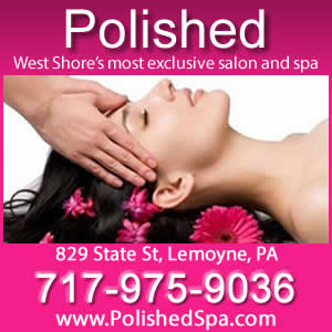 Polished Salon ad