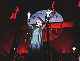 Roger Waters in costume