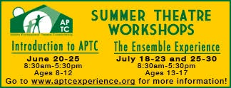 APTC Summer Theatre Workshops